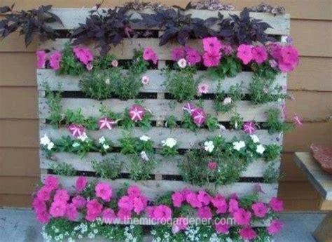 pallet flower bed pallet flower bed pallets pinterest