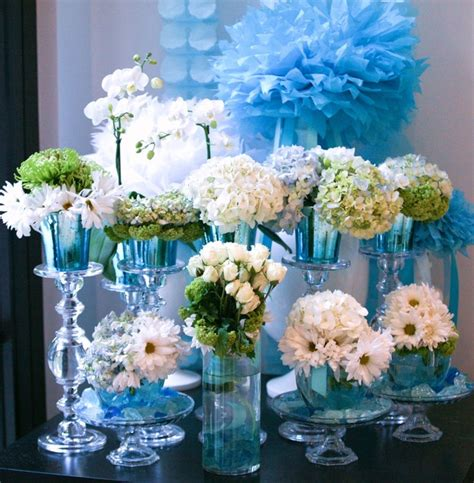 Blue And Green Baby Shower Decorations by Blue Baby Shower Decorations Best Baby Decoration