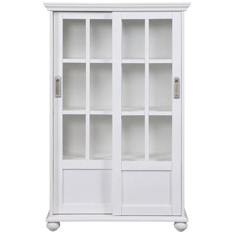 2019 white bookcases with doors