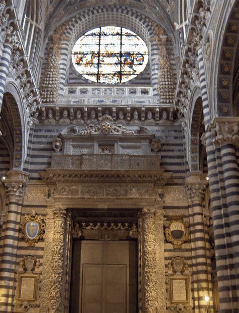 interno duomo di siena struttura interna duomo di siena