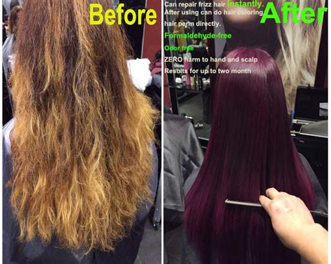 Types Of Permanent Hair Straightening by Keratin Protex Straightening Mousses Treatment Buy