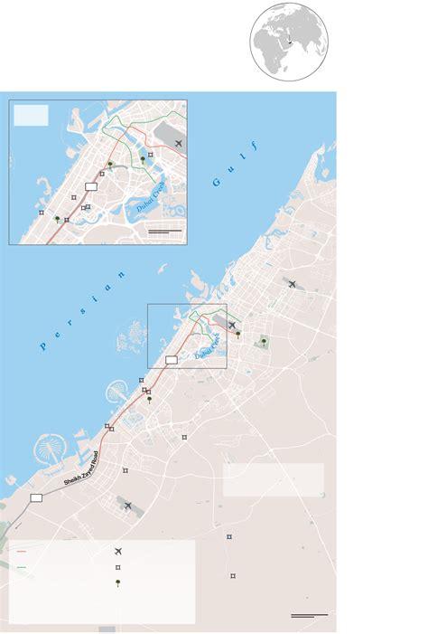 grid design graphics dubai the world s most improbable green city