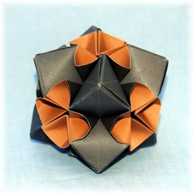 Exquisite Modular Origami - flower 12