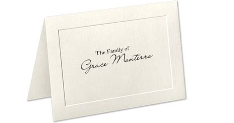 funeral acknowledgement cards template personalized sympathy acknowledgement cards personalized