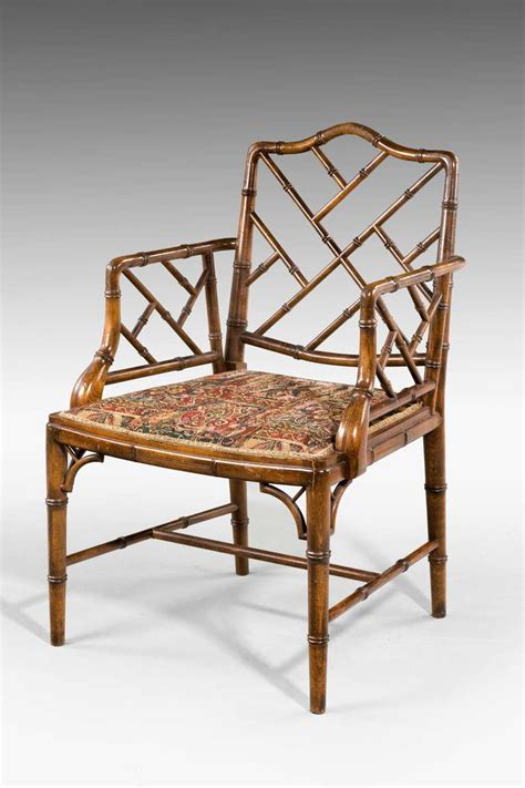 18th century chairs styles pair of 18th century style bamboo chairs at 1stdibs