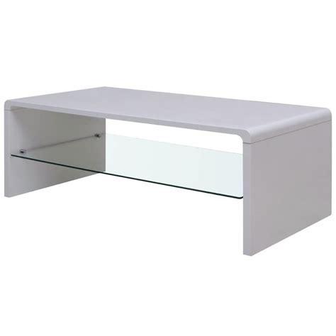 Glossy Coffee Table Vidaxl High Gloss Coffee Table White Vidaxl Co Uk