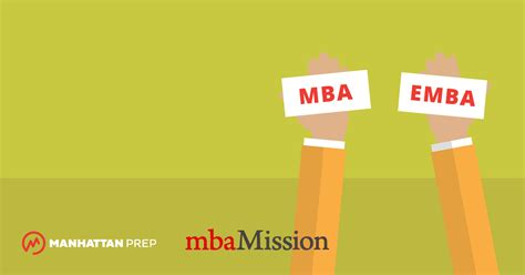 Mba Vs Emba Which Is Better by Gmat Strategies And News Manhattan Prep