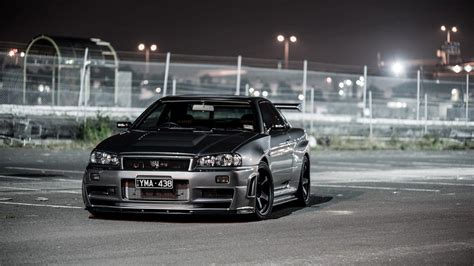 nissan r34 black nissan skyline r34 wallpapers wallpaper cave