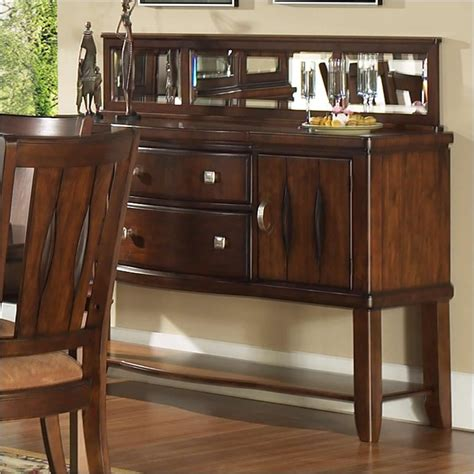 Dining Room Servers Furniture Coaster Furniture 103165 Libby 2 Door Dining Server Buffet In Cappuccino