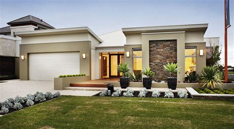 fabulous modern single storey house plans for your home