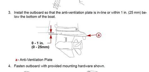 flat bottom boat porpoising proper outboard motor height automotivegarage org