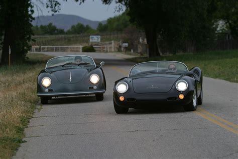 Porsche 550 Speedster by Porsche 356 Speedster And 550 Spyder Replica Cars