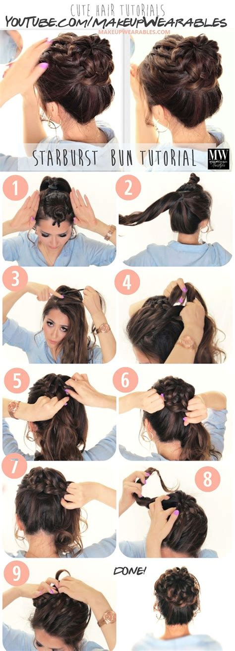 hairstyles for long hair no heat 20 easy no heat summer hairstyles for girls with long hair