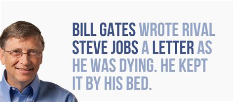 Bill Gates Letter To Steve 11 mysterious facts about steve that you probably