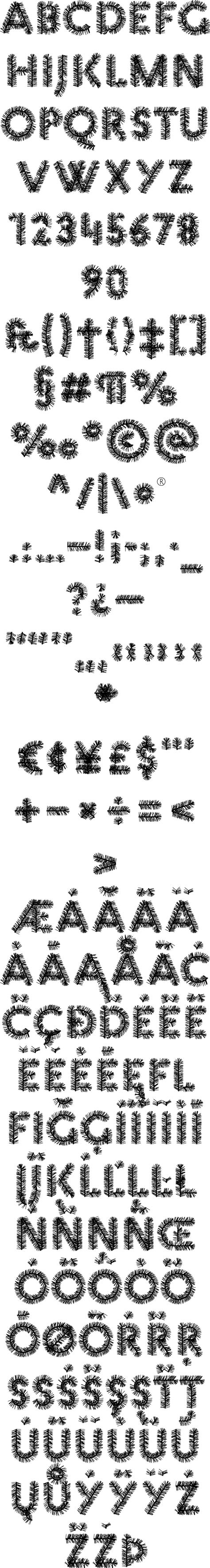 regex pattern allow special characters christmas pattern fonts by mauve type