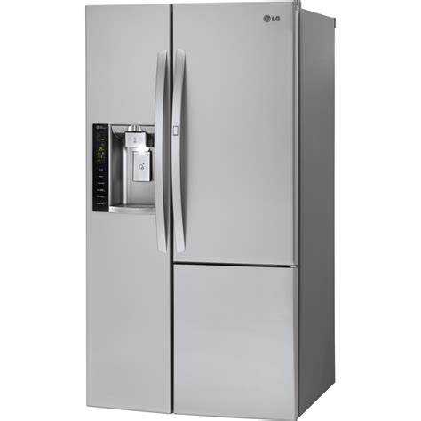 Lg Refrigerator Models Door by Lsxs26386s Lg 26 Cu Ft Side By Side Door In Door