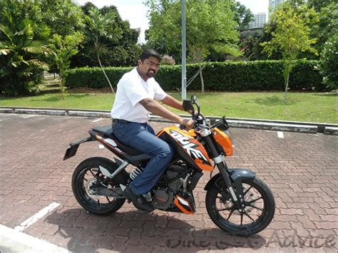 Ktm In India Ktm 125 Duke Reviewed By Bikeadvice In Singapore