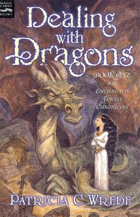 dragons and books dealing with dragons enchanted forest chronicles 1 by