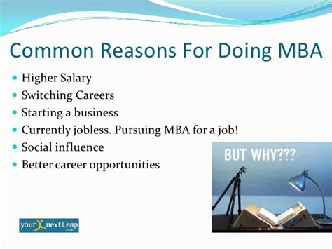 Do I Need Work Experience For Mba by Why Do Mba