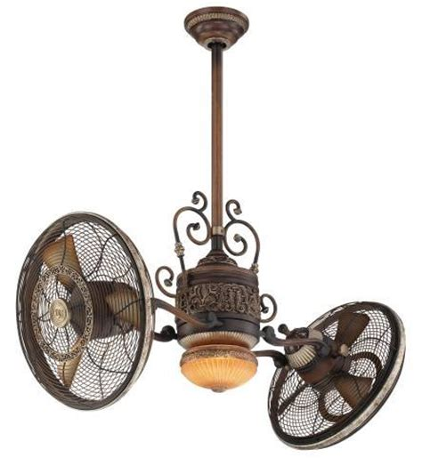 dual motor ceiling fan minka aire f502 bcw one light belcaro walnut dual motor