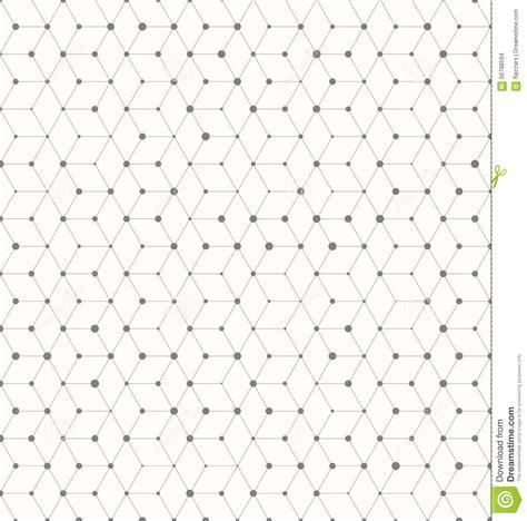 geometric pattern random isomertic cube geometric lines pattern with random dots