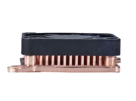 Ultimate Heat Sink by Enzotech Slf 1 Ultra Low Profile Copper Heat Sink