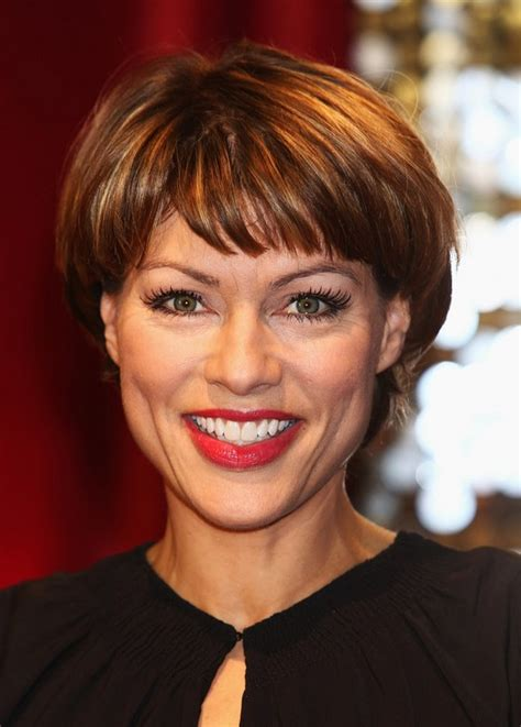 short haircuts with bangs for women over 40 kate silverton short haircut with bangs for women over 40