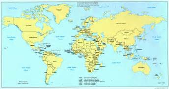 Picture Of World Map by 1989 World Map