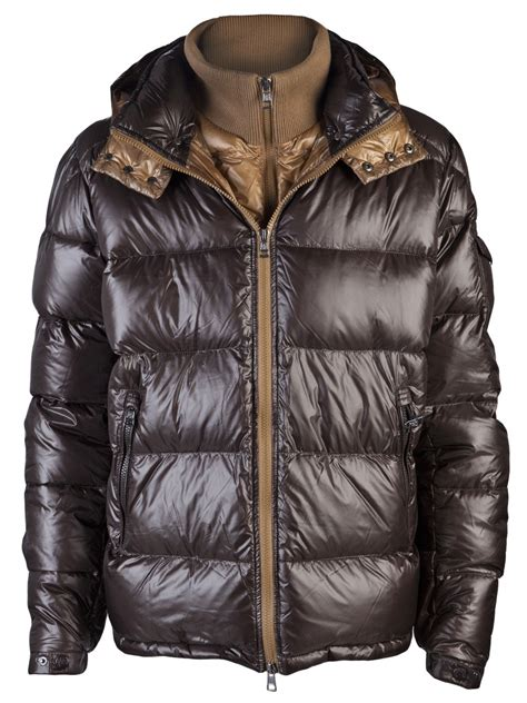 Cheap Mens Quilted Jackets Uk by Cheap Moncler Zin Quilted Jacket Chocolate Uk Cheap