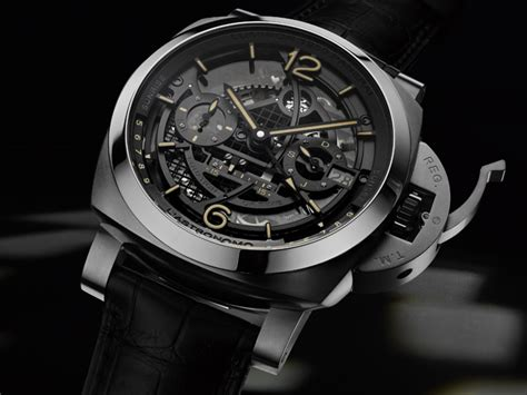 Luminor Panerai Turbilon Angka Black 1 sihh 2018 panerai l astronomo luminor 1950 panerai s moonphase