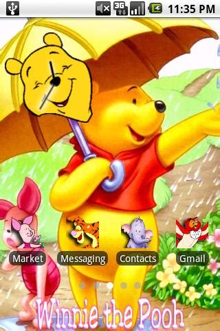 themes android winnie the pooh winnie the pooh theme android personalization best android