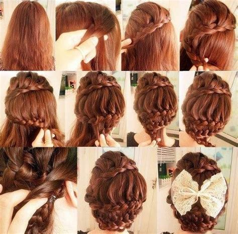 hair style step by step pic step by step hairdo ideas for girls nationtrendz com