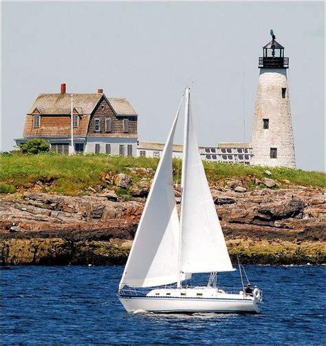 Wood Island Light Wood Island Lighthouse Maine If By Sea