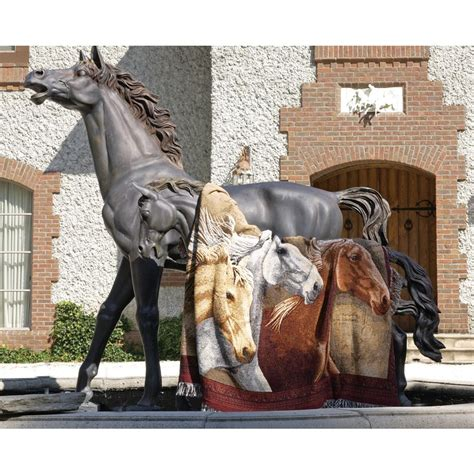 manual woodworkers and weavers manual woodworkers and weavers inc three horses tapestry