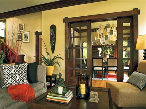 sliding pocket doors design   arts crafts house