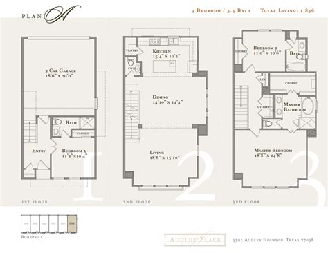 houston house plans townhome floor plans houston house plan 2017