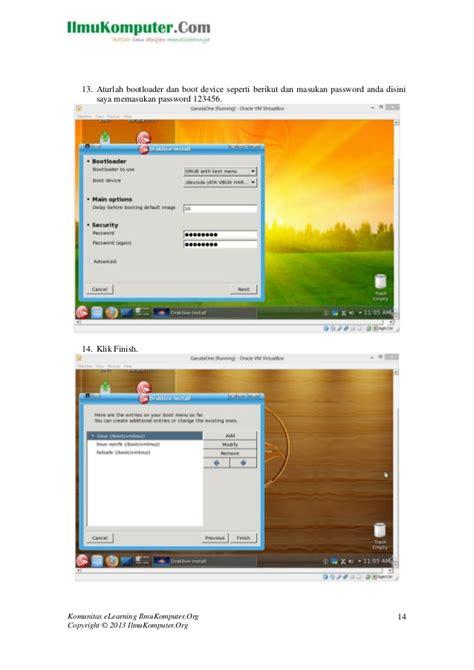 tutorial linux virtualbox tutorial menginstall linux garuda one di virtualbox