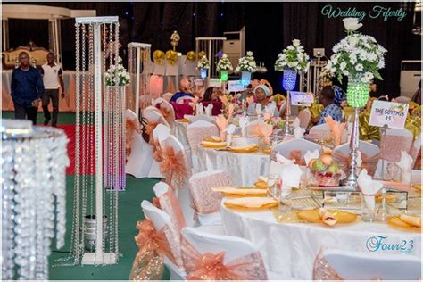 wedding decoration pictures in nigeria abuja weddings yomi and anu s ceremony wedding feferity