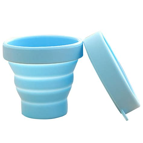 Ember Lipat Foldable Water Foldaway outdoor tableware new portable silicone retractable folding water cup travel cing telescopic