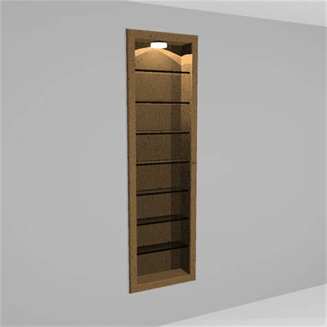 Wall Cabinet With Glass Door Wall Cabinet Glass Door 3d Model Formfonts 3d Models Textures