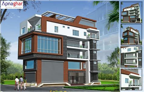 residential design expert planning to build commercial plus residential building