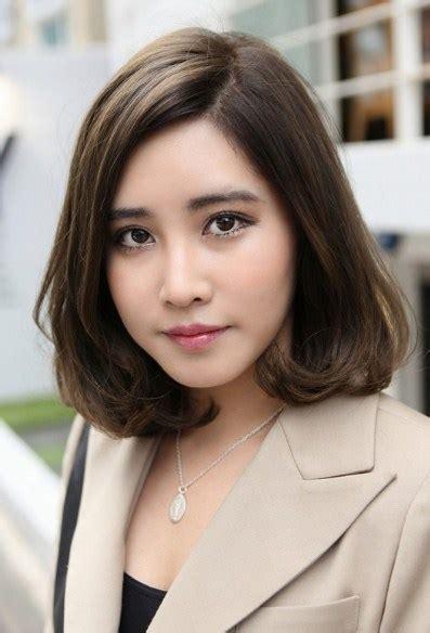 model rambut remaja 15 model rambut sebahu ala korea trend terpopuler 2018
