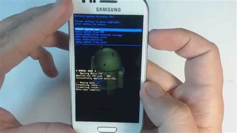 reset hard samsung s3 samsung galaxy s3 mini i8190 hard reset youtube