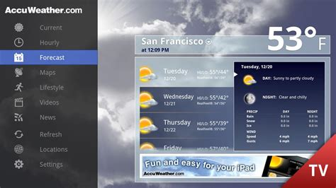 accuweather for android accuweather for tv android apps on play