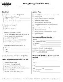 Diving Emergency Plan Template emergency plan template tristarhomecareinc