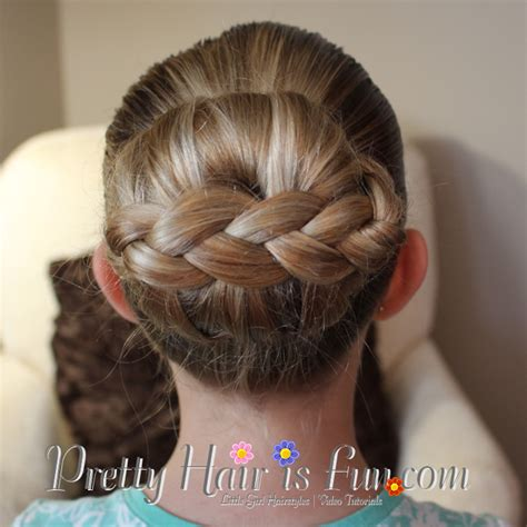 easy sock bun with braid s hairstyles stacked braided bun pretty hair is hairstyle tutorials