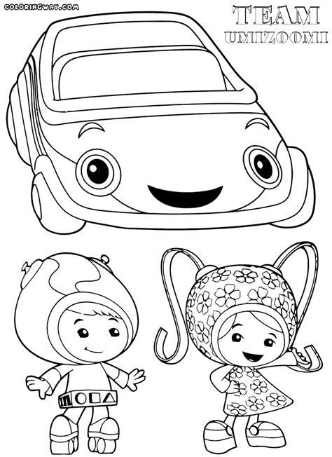 umizoomi car coloring pages team umizoomi coloring pages coloring pages to download