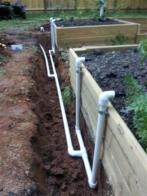 raised bed irrigation 25 trending garden irrigation system ideas on pinterest