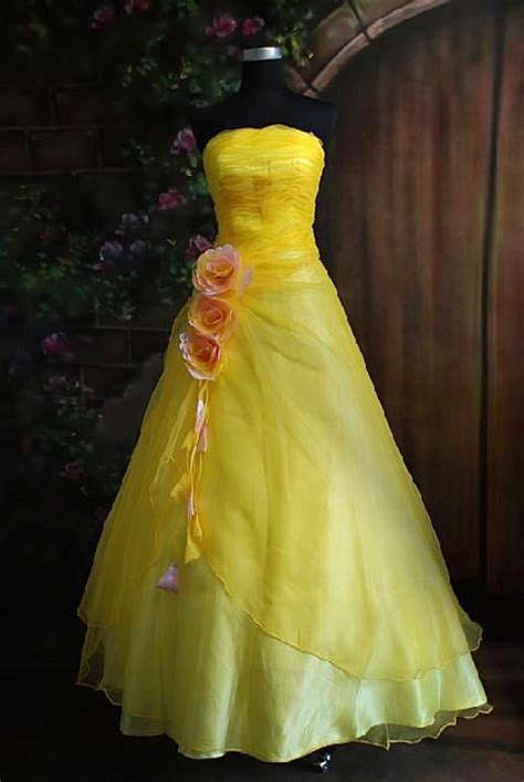 Yellow Weddingprewed Dress 17 best images about sweet 16 on and