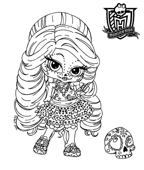 monster high chibi coloring pages chibi monster high coloring pages download and print for free
